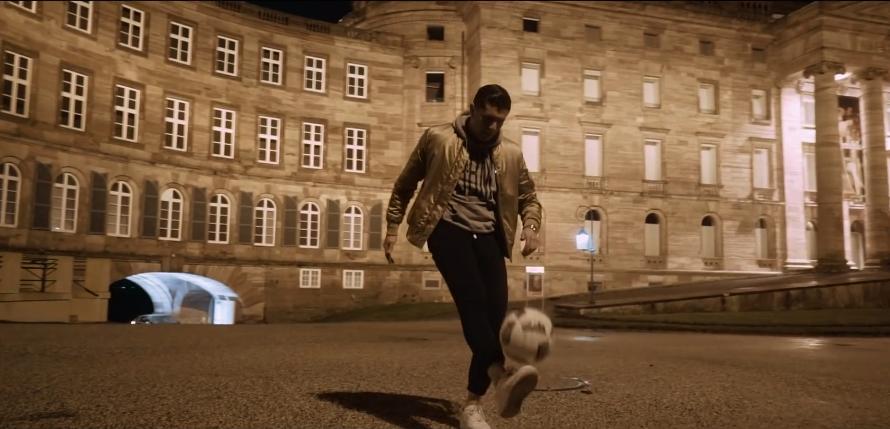 Wenn Gangsta-Rapper vor Schloss Wilhelmshöhe kicken