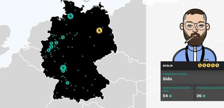 Hiphop-Hochburgen in Deutschland
